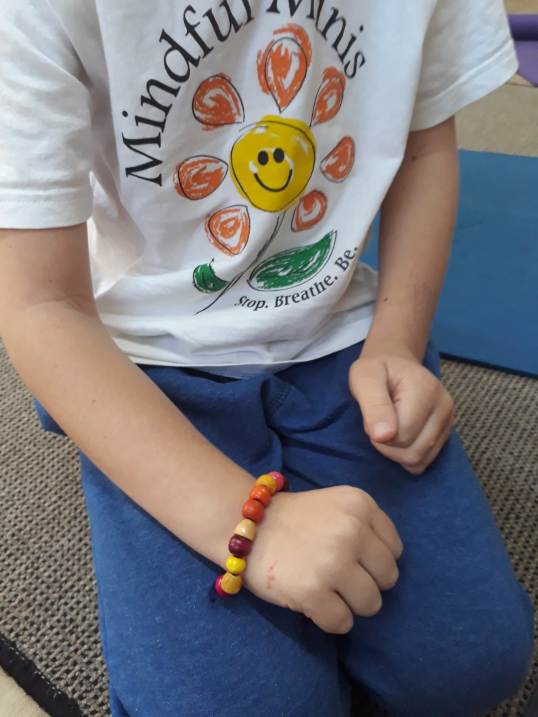 mindfulness breathing bracelet