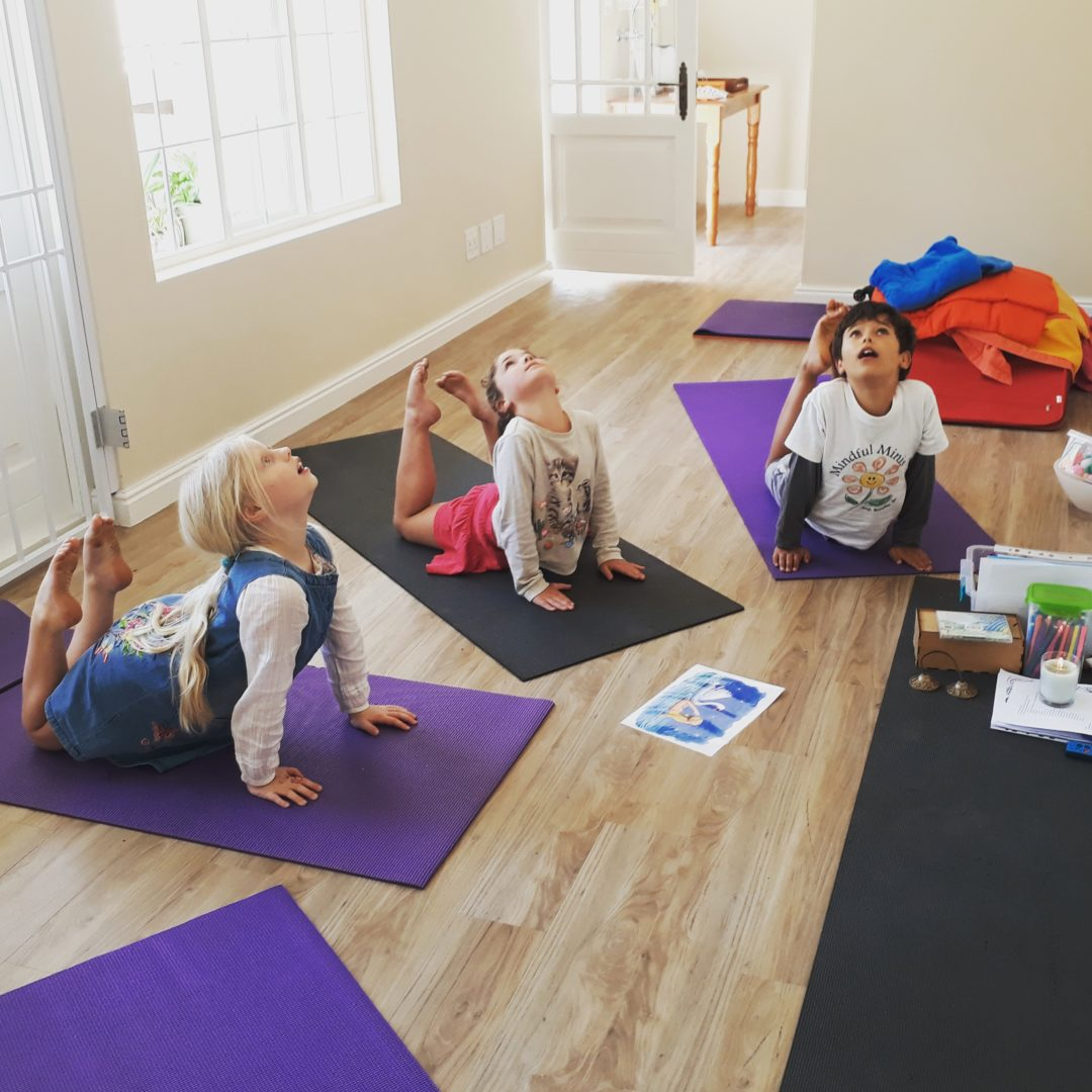Guiding children in mindfulness in Cape Town, South Africa
