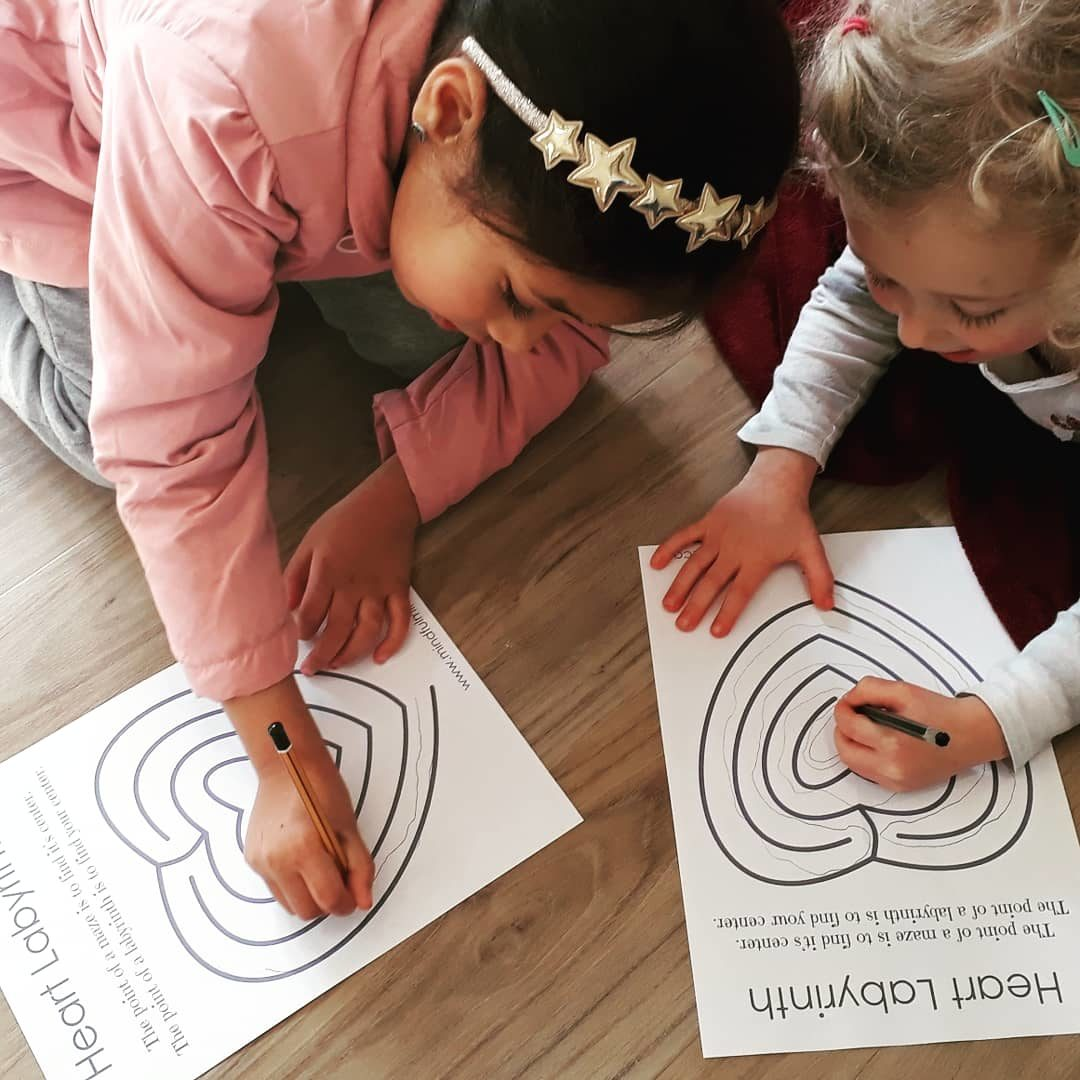 guiding children in mindfulness in Cape Town